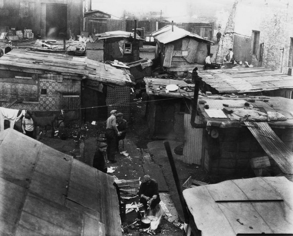 life in the time of the great depression