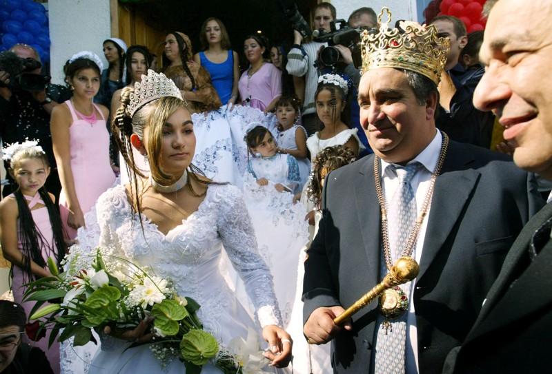 Роскошные цыганские свадьбы роскошь, факты, цыгане