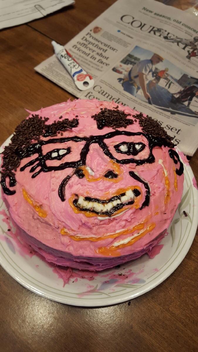 Про, смешная картинка торт