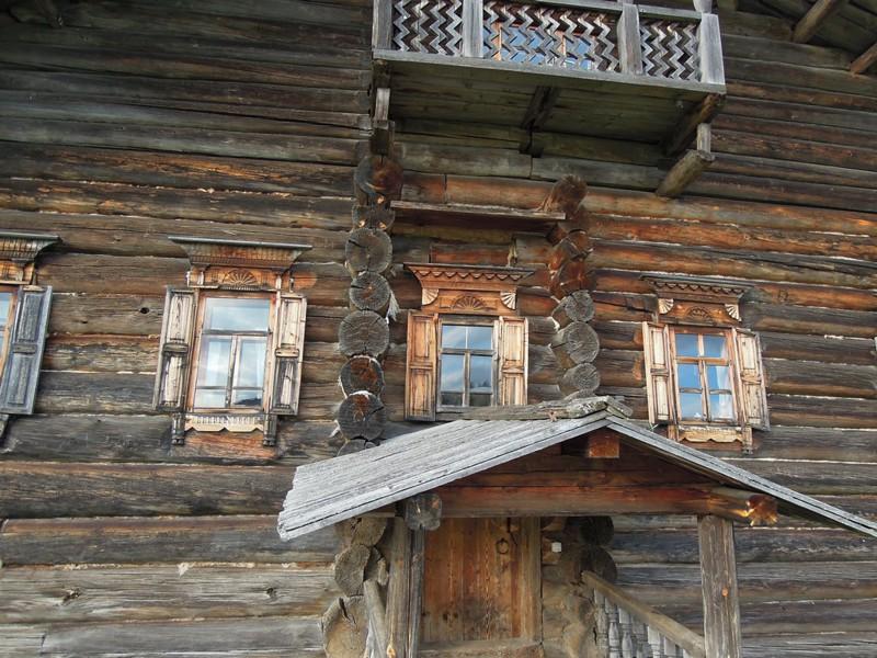 Крестьянские дома XIX века на Русском Севере  история, русский север, факты
