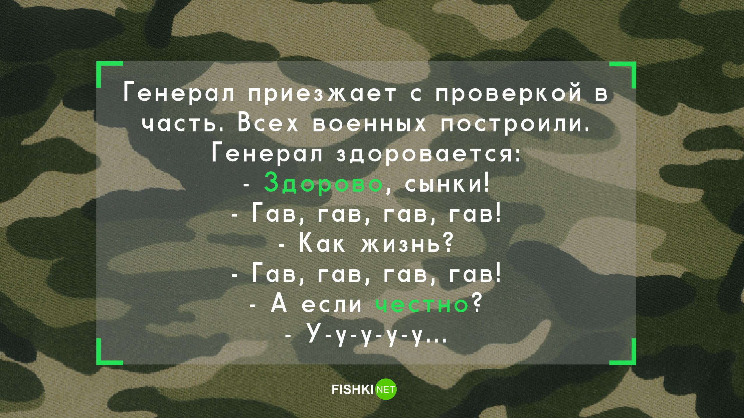 15 анекдотов, которые напомнят вам о суровых армейских буднях Анекдоты, армия, служба, солдаты, юмор