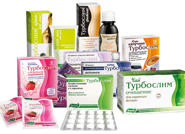 Продукция в аптеки похудения