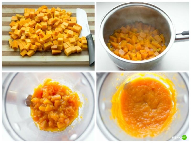 Пошаговые рецепты с тыквой фото рецепт