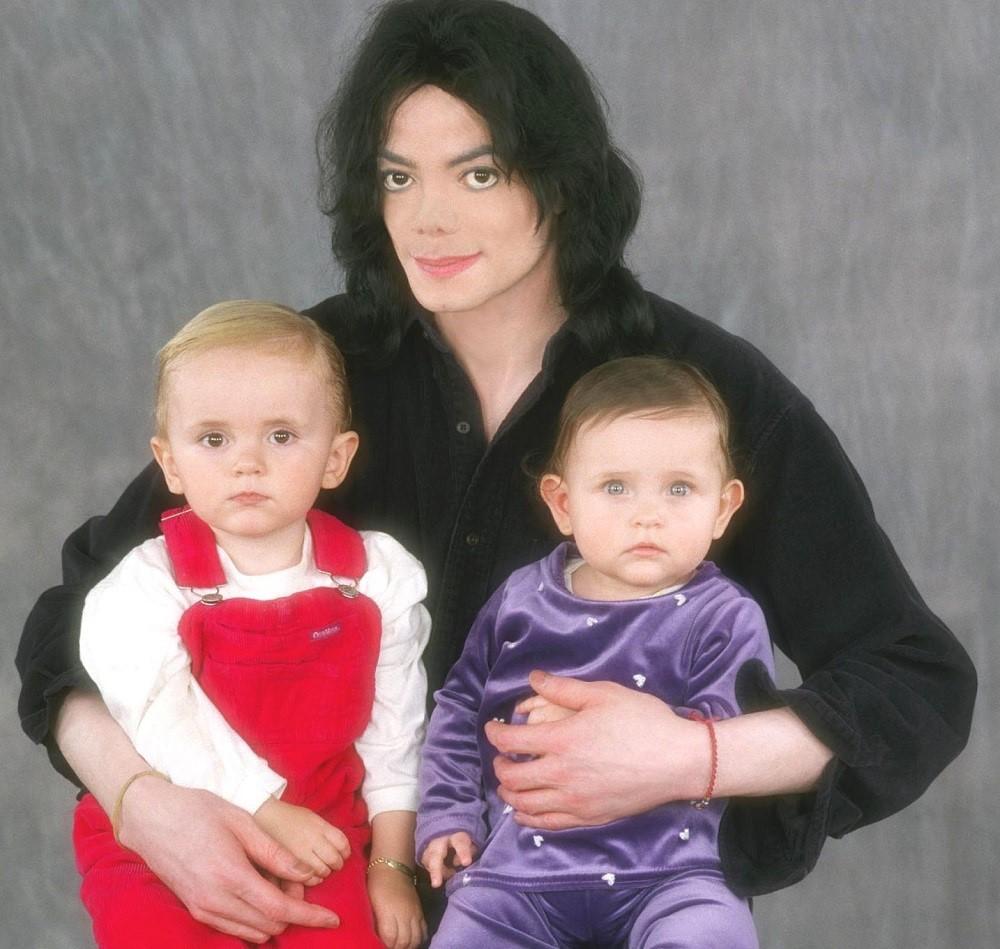 майкл джексон с детьми фото сорт