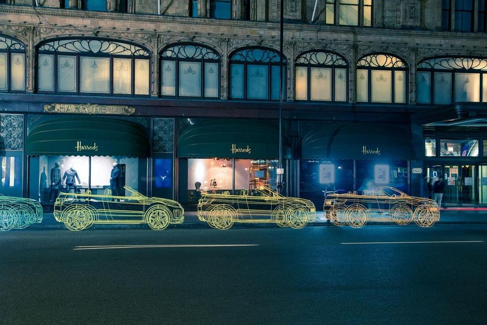 """Land Rover рекламирует новый Evoque с помощью """"скелетов"""" evoque, land rover, креатив, реклама"""