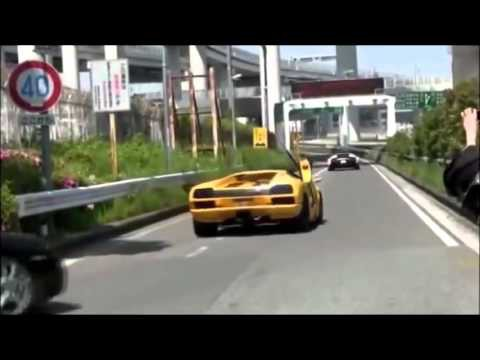 Lamborghini crash compilation