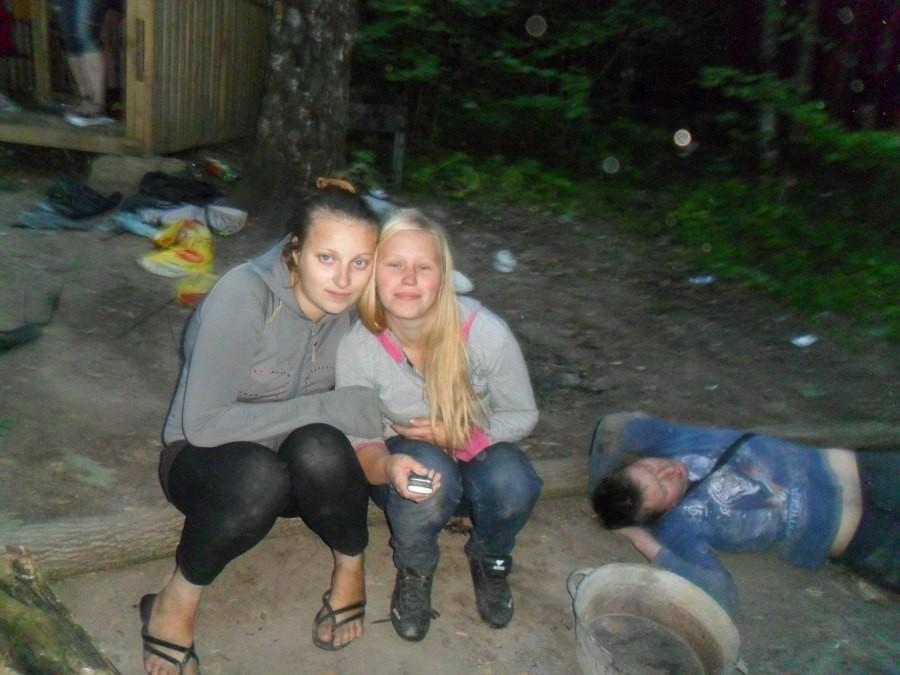 сделать фото пьяных деревенских девушек был таким толстым