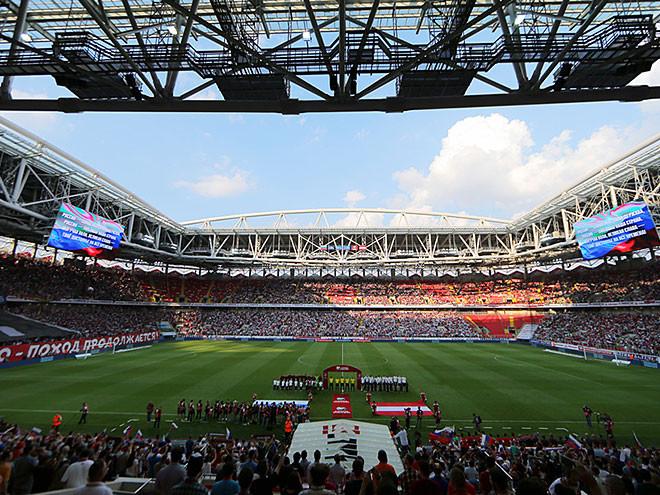 Стадионы мира чемпионата выглядит 2018 как