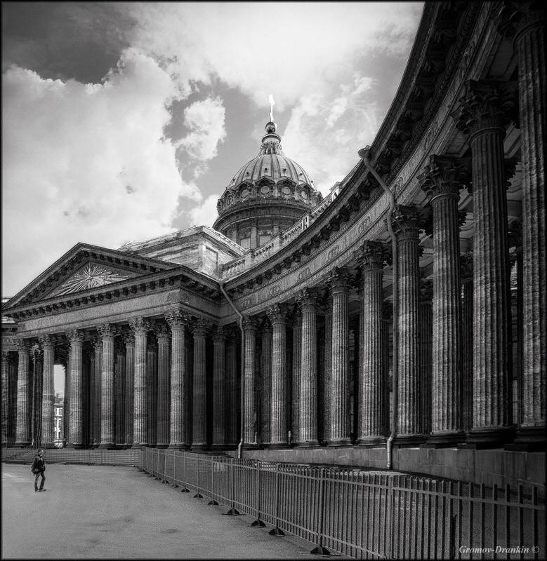 Картинки санкт-петербурга черно белые