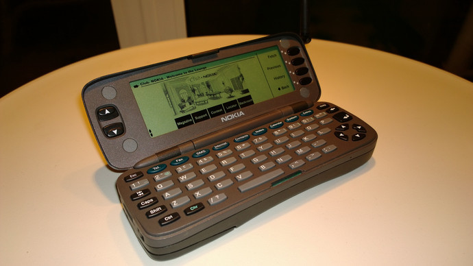 Nokia 9000 Communicator мобилка, нокиа, телефоны