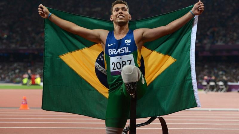 8. Алан Оливейра. паралимпийцы, чемпионы