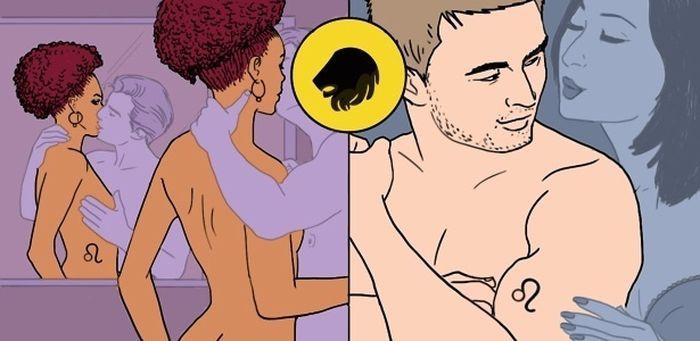 Секс с женщиной львом позы