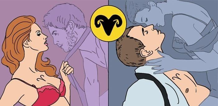 Секс позы овна