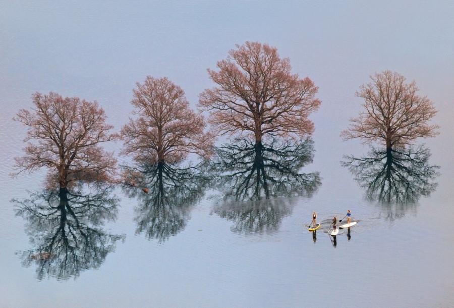 4. Последствия наводнения в Любляне, Словения. без фотошопа, удивительные фотографии