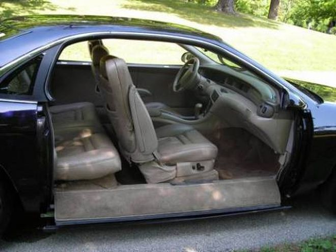 Lincoln с весьма необычным способом открывания дверей lincoln, автодизайн, двери