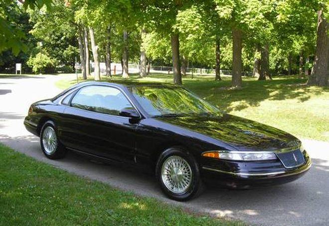 Lincoln Mark VIII 1993: lincoln, автодизайн, двери