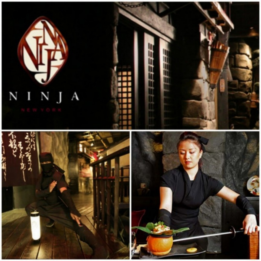 1. Ninja интересное, мир, ресторан