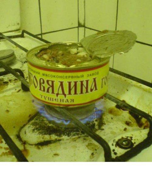 Когда совсем лень мыть потом посуду  еда, прикол, студенты, юмор