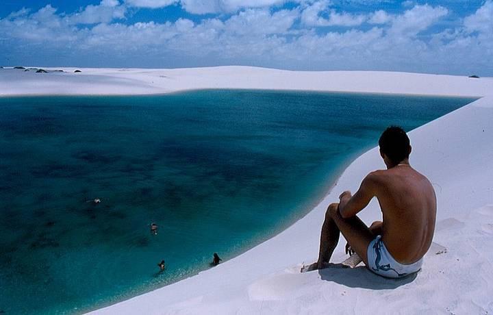 Белоснежные дюны и голубые лагуны - Бразилия