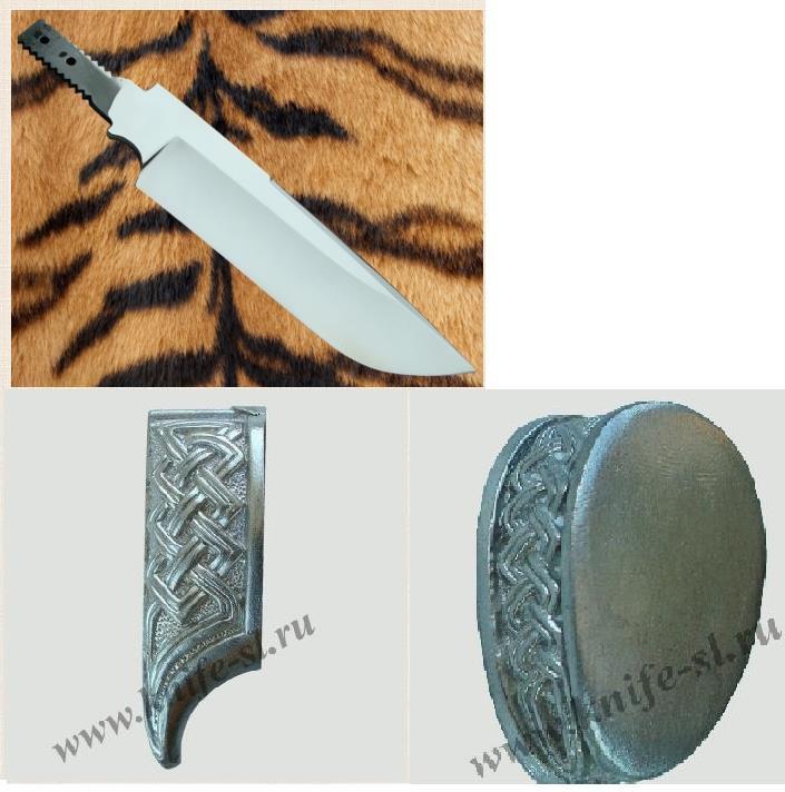 Как сделать гарду для ножа своими руками 70