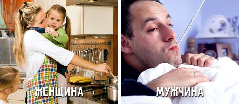 Как болеют мужчины и женщины картинка прикол, марта открытки мартом