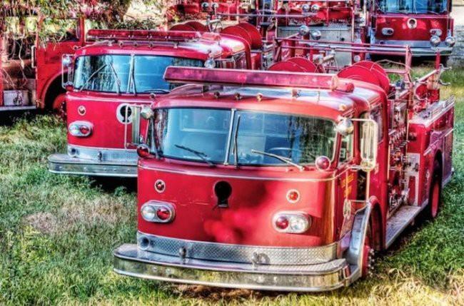 3. Кладбище пожарных машин мир, поразительно, свалки, ужасает, факты, экология