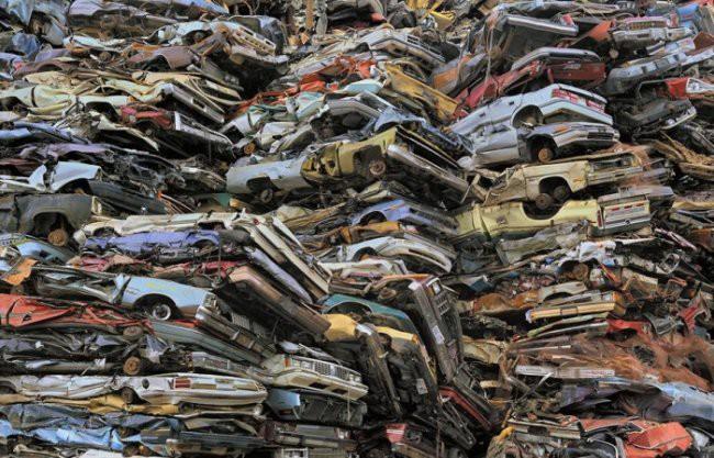6. Кладбище автомобилей мир, поразительно, свалки, ужасает, факты, экология