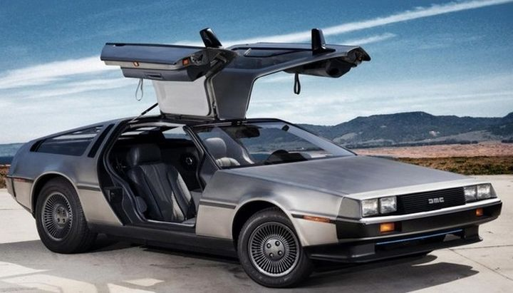 10. DeLorean DMC-12 автодизайн, спорткар, суперкары