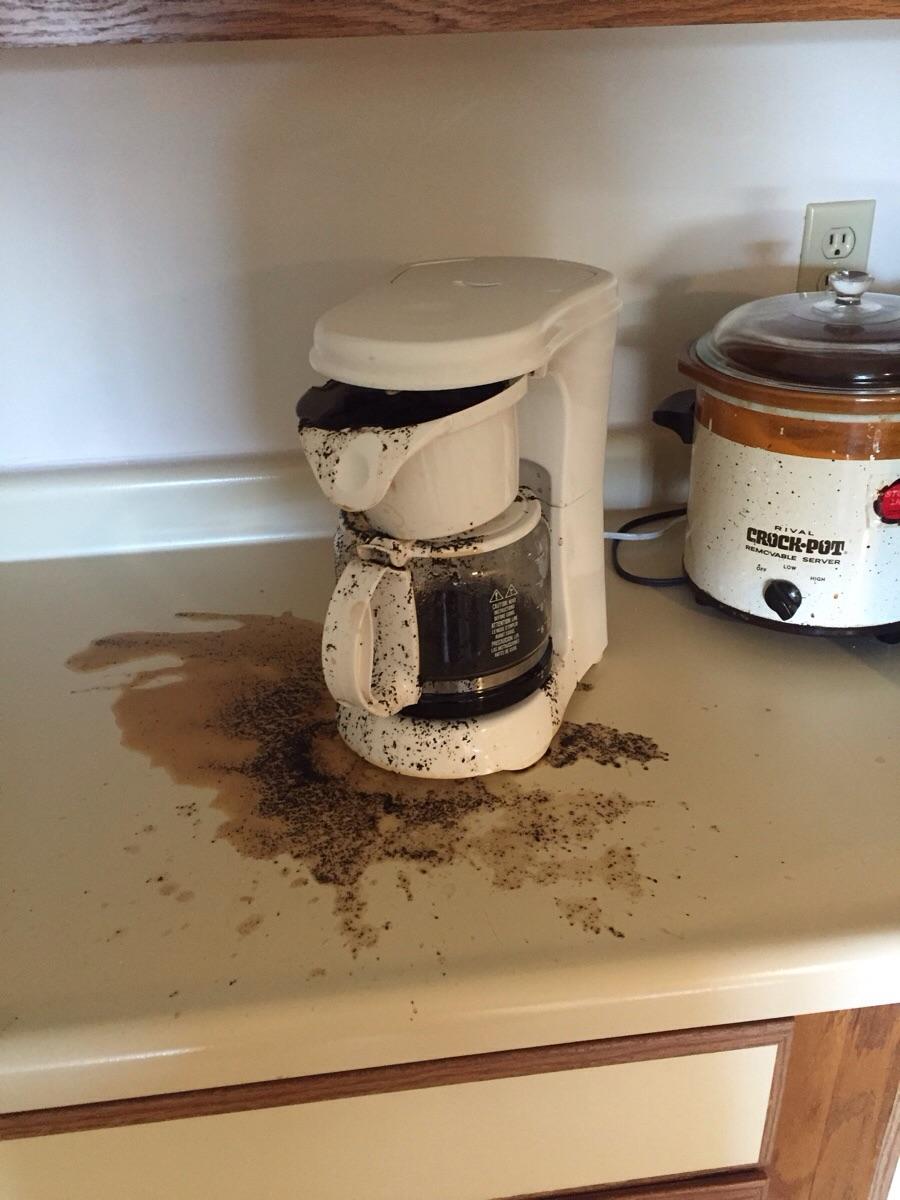Прикольные картинки на кофеварку