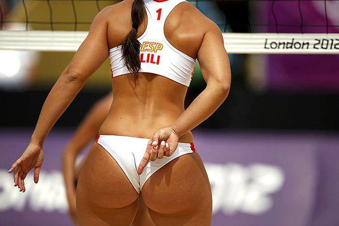 Волейбол сиськи видео