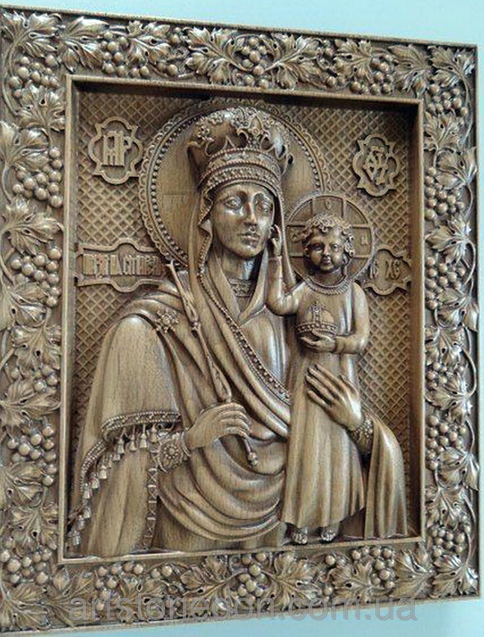 Фото иконы божьей матери всех скорбящих