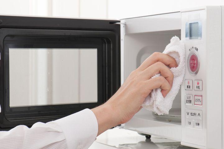3. Отмойте микроволновую печь кухня, советы, хитрости