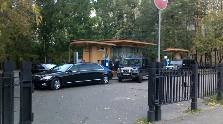Старейшая действующая АЗС в Москве