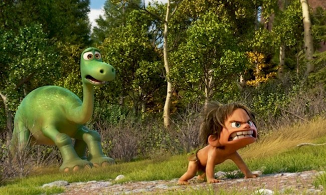 5. Хороший динозавр (The Good Dinosaur)