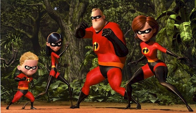 10. Суперсемейка 2 (The Incredibles 2)