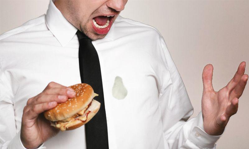 2. Удалить жирные пятна мел, советы, хитрости