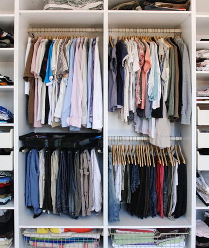 9. Предотвращение затхлого запаха в гардеробе мел, советы, хитрости