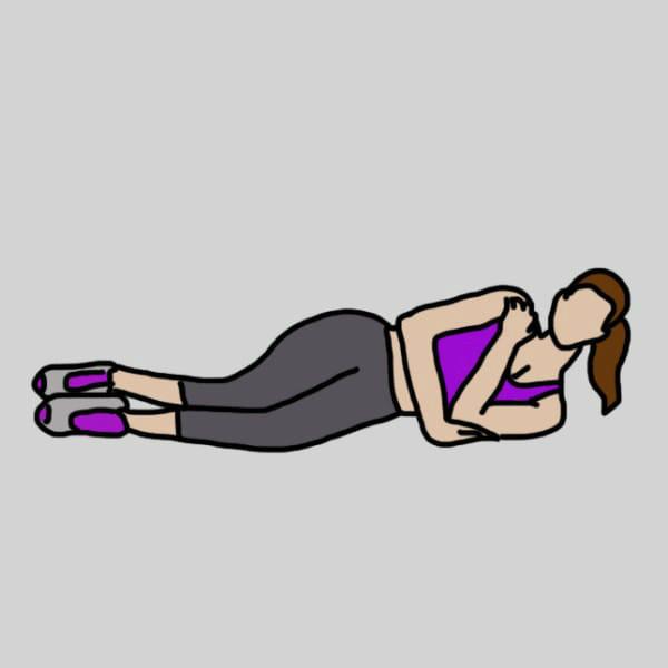 Отжимание на трицепс лежа на боку советы, упражнения