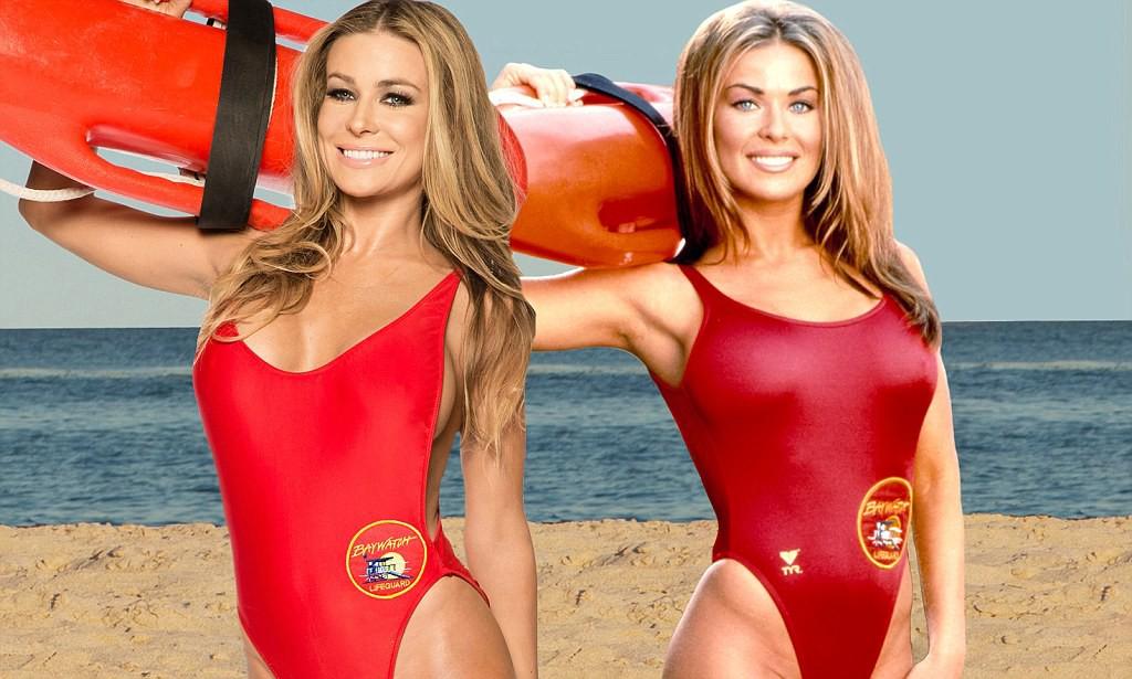 Спасательница на пляже, красная пресня шлюхи