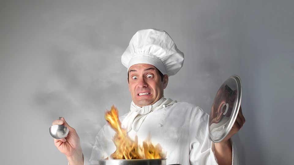 Фото, картинки с поварами и едой