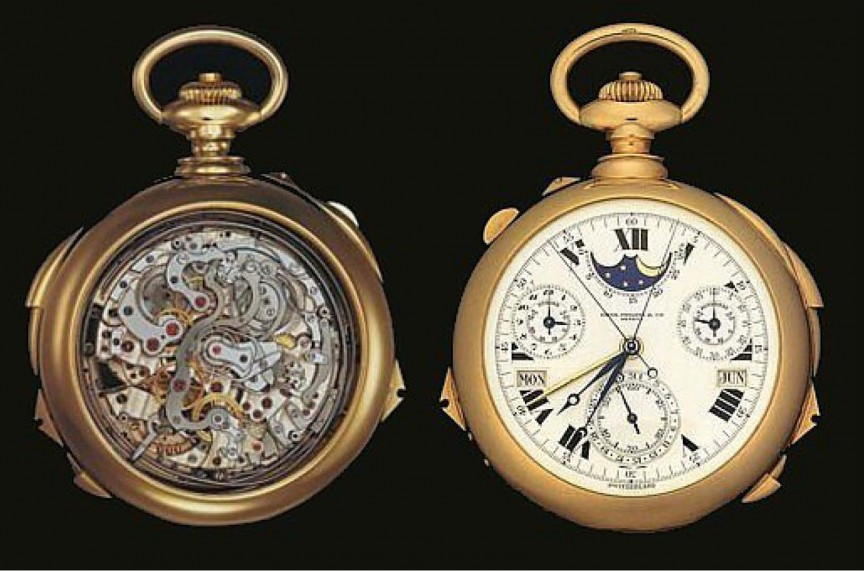 5. Patek Philippe Henry Graves Supercomplication - 24,000,000 долларов стоимость, часы
