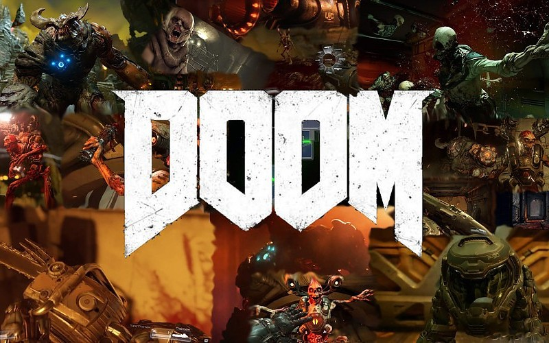 Doom game, play station, x-box, игра, игры