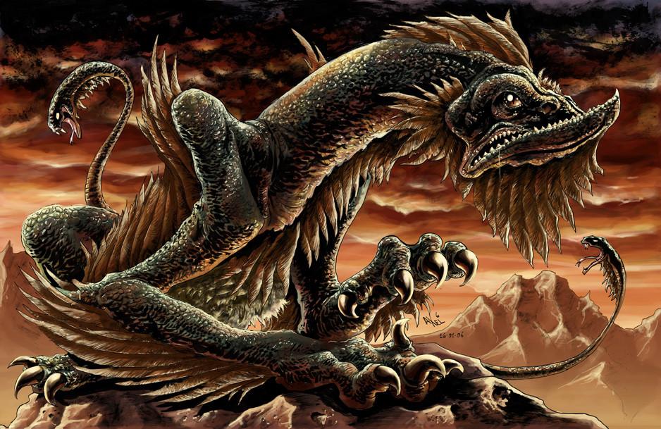 1. Аспид. древние славяне, мифы, монстры, славянская мифология