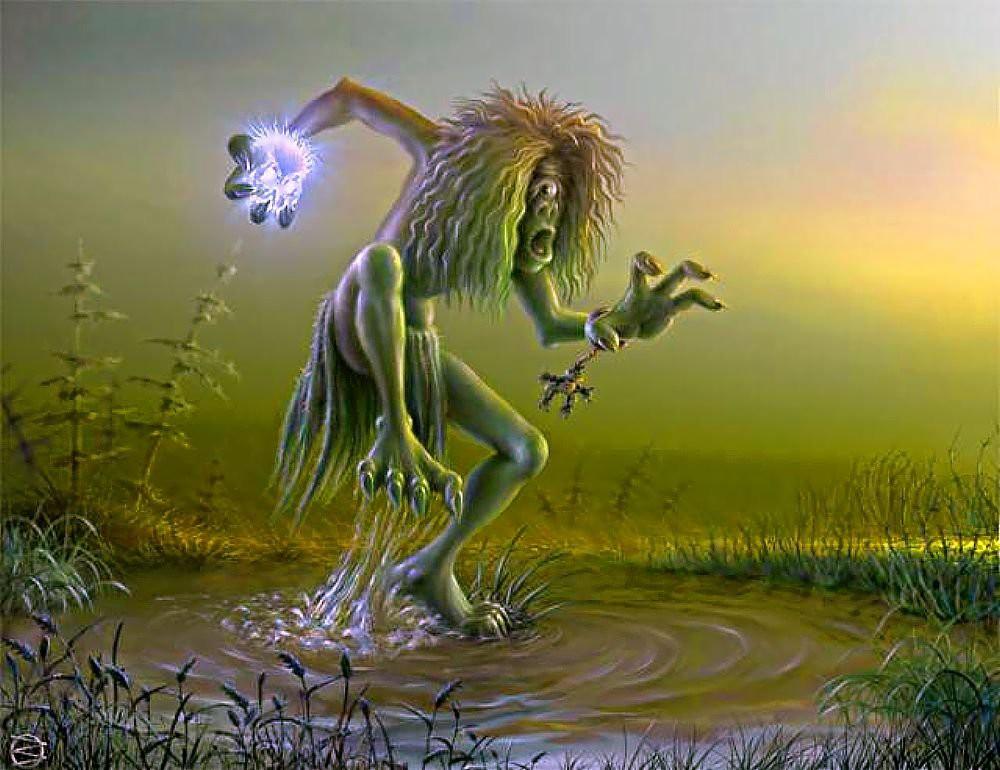 7. Лихо. древние славяне, мифы, монстры, славянская мифология