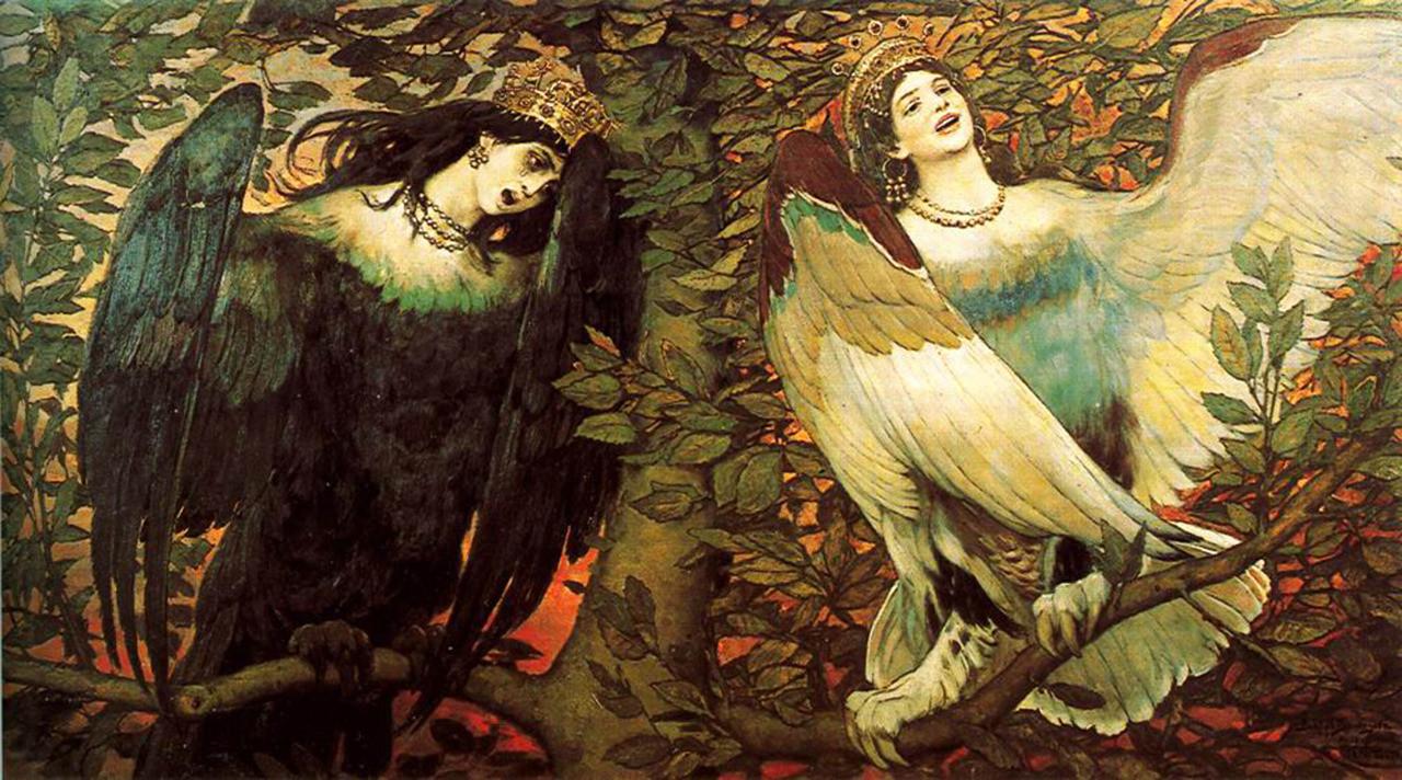 9. Алконост. древние славяне, мифы, монстры, славянская мифология
