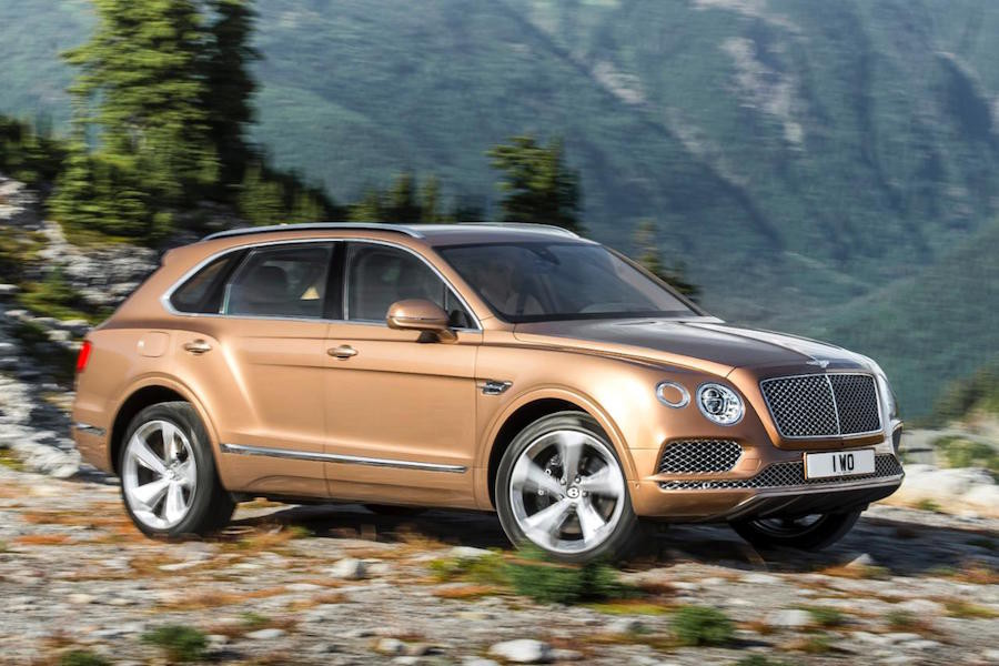 8. Bentley Bentayga.