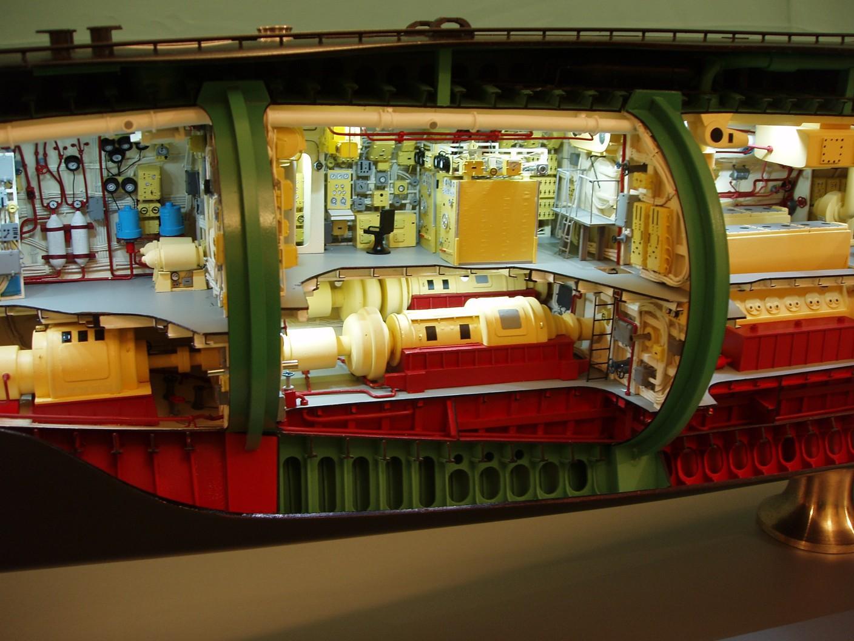 Дизель-электрическая подводная лодка Б-413 в Музее Мирового океана, гКалининград