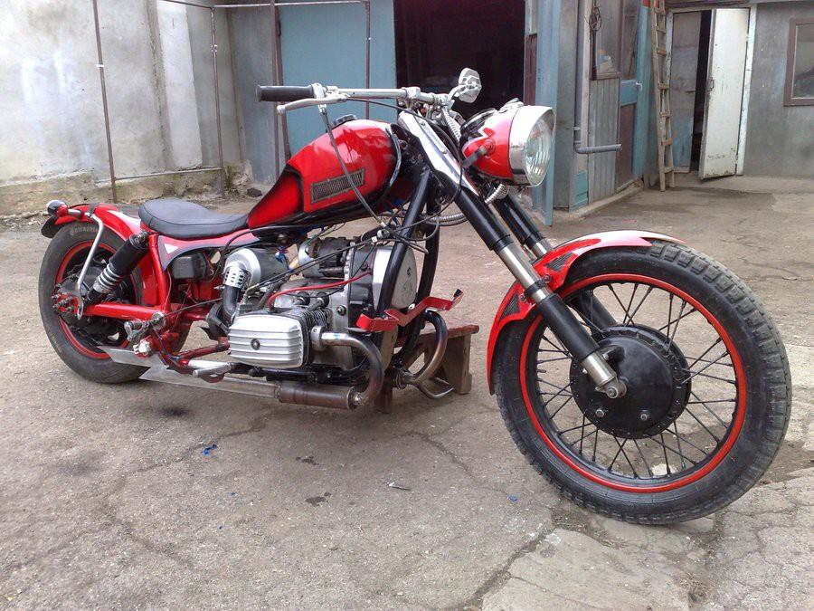 Мотоциклы своими руками - Полезные самоделки 13