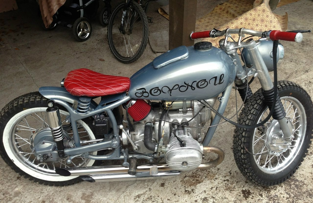 Тюнинг мотоцикла Урал своими руками