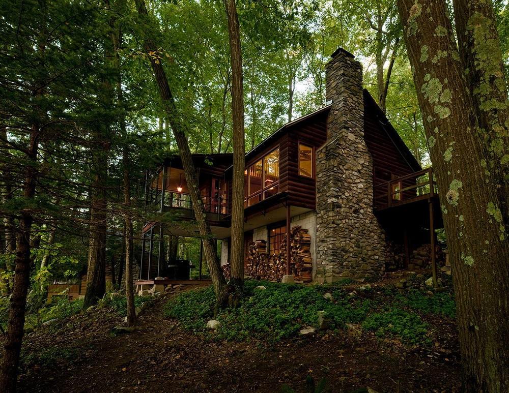 дом в чаще леса картинка итоге сегодня